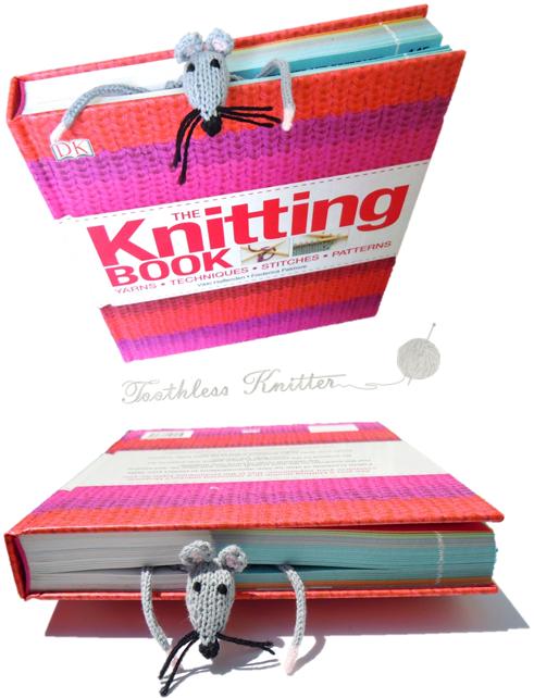 Knitting Patterns Galore Flat Rat A Bookmark