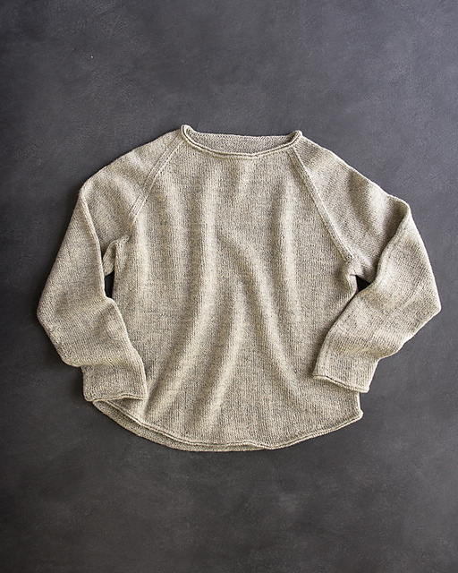 Free Pullover Knitting Patterns : Knitting Patterns Galore - Lightweight Raglan Pullover