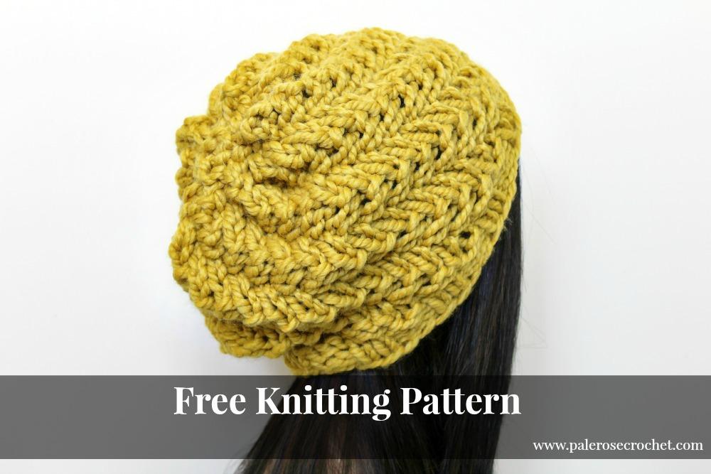 Swirl Hat Free Knitting Pattern. Swirl Hat ca7be9cea76