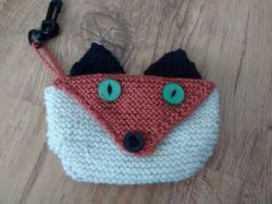 Fox Bag Holder or Purse