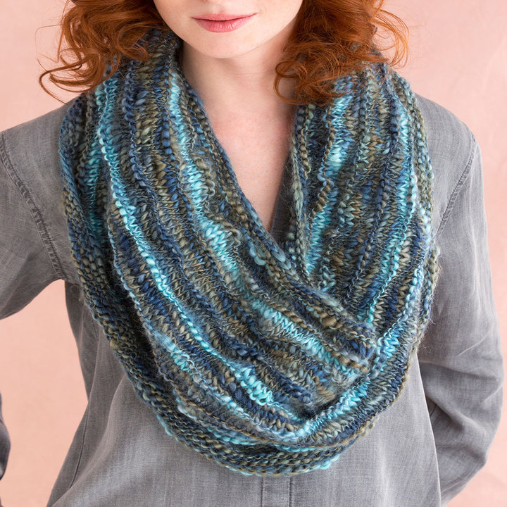 Knitting Patterns Galore - Multi-Wear Cowl