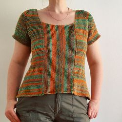 Summertime Garter Stitch Top