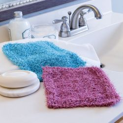 Simple Scrubby Washcloth