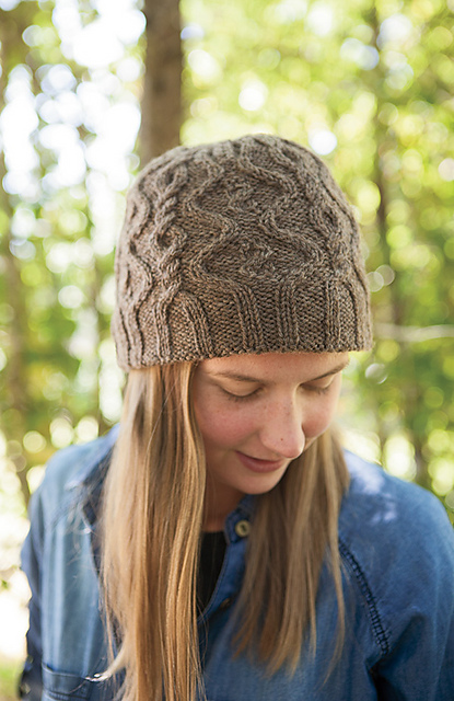 Knitting Patterns Galore Coucou Cable Chapeau