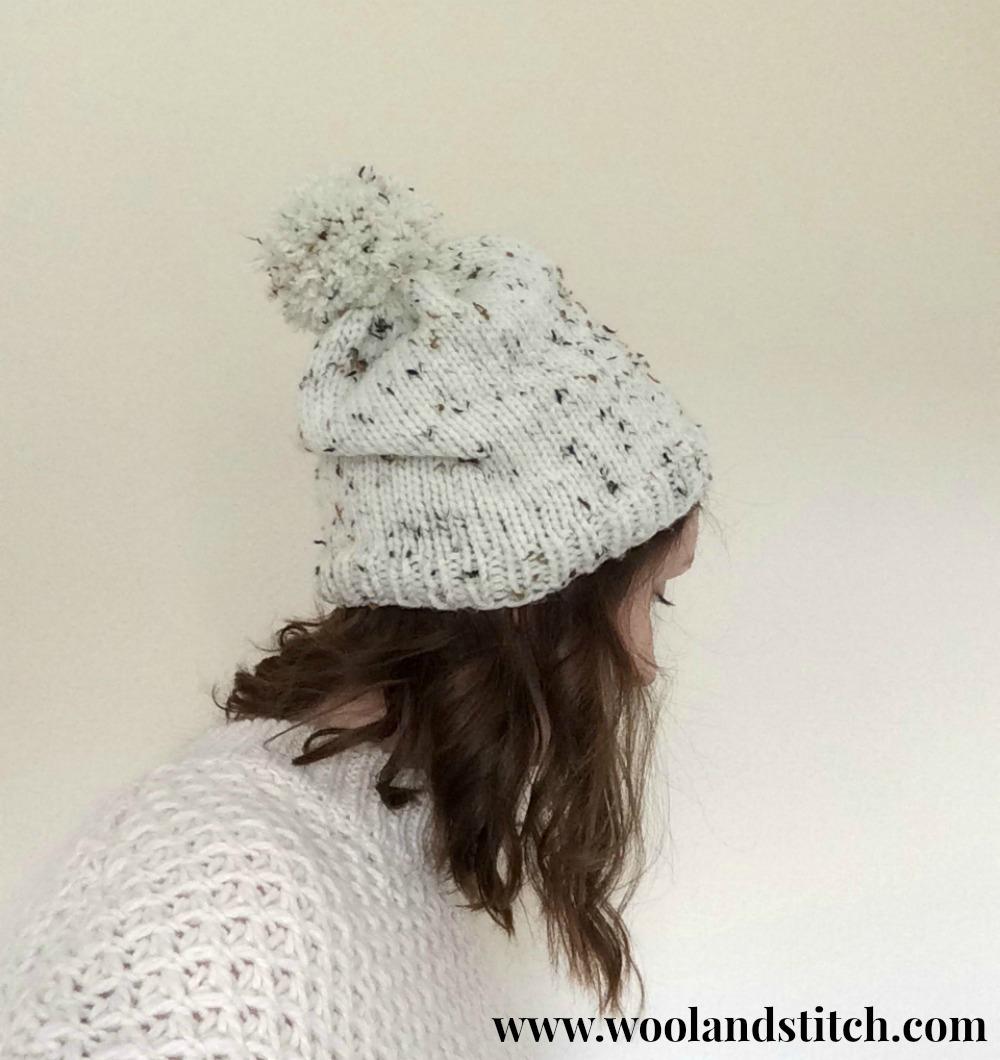 Knitting Patterns Galore - Marley Chunky Hat