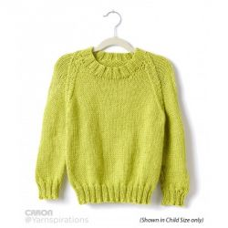Adult Knit Crew Neck Pullover