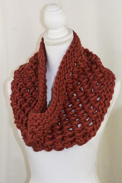 Knitting Patterns Galore - Undelay Cowl