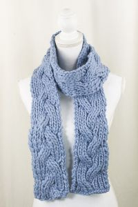 Reversible Braid Scarf