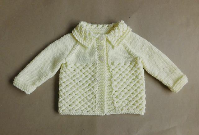 Knitting Patterns Galore Danika Baby Jacket