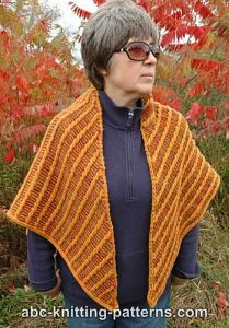 Midas Touch Cable Shawl