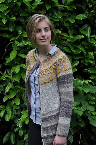 Knitting Patterns Galore - Laekur Cardigan