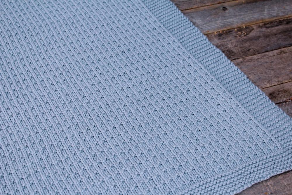 Knitting Patterns Galore - Avaya Baby Blanket Worsted