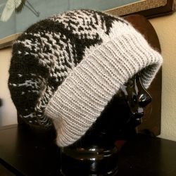 Christmas Tree Slouch Hat