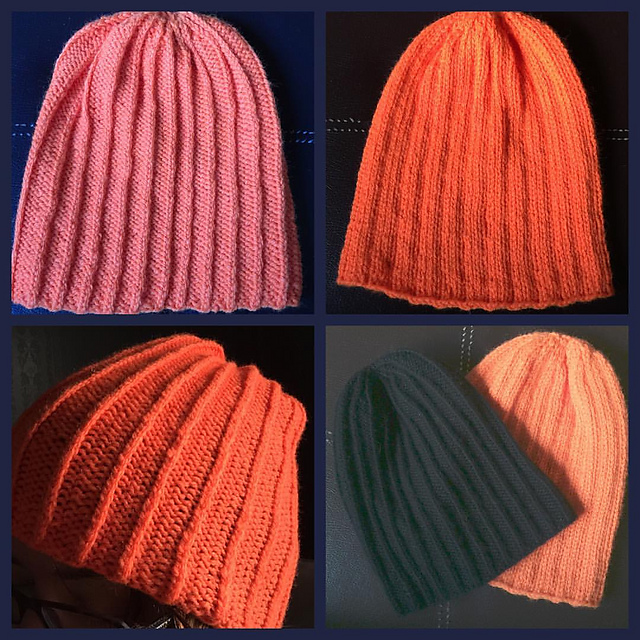 Knitting Patterns Galore Bilateral Toque
