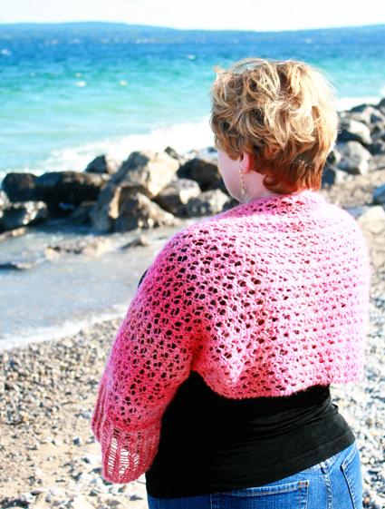 Knitting Patterns Galore Indian Summer Shrug