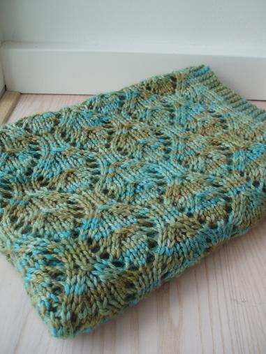 Free Knitting Pattern For Aran Baby Blanket : Knitting Patterns Galore - Baby Chalice Blanket