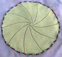 Knitting Patterns Galore Round Of Pinwheel Baby Blanket