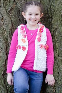 Girl's Daisy Chain Vest