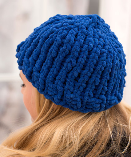 Knitting Patterns Galore - Easy Peasy Hat