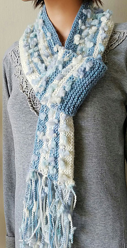 Knitting Patterns Galore Pocket Scarf