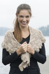 Soft Lace Shawl
