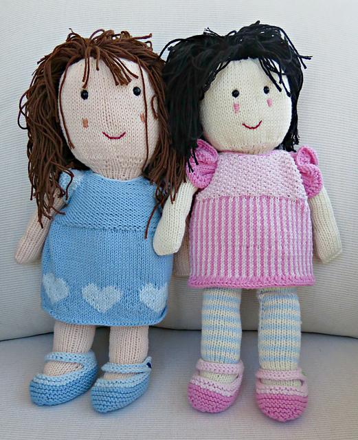 Knitting Patterns Galore Costa Brava Rag Doll