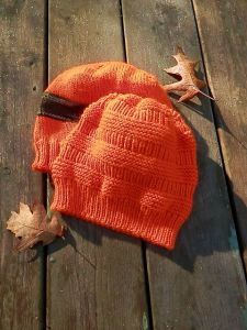Orange Blaze Hunting Toque