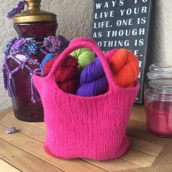 Be So Brave Felted Bag