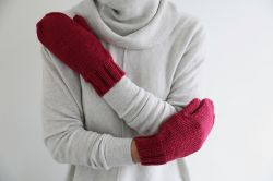 Big Merino Mitts