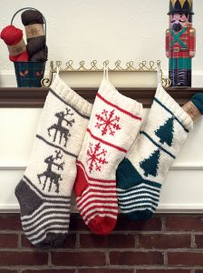 Christmas Stocking Trio