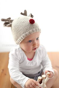 Tiny Reindeer Hat