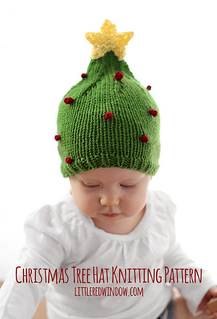 Christmas Tree Hat Free Knitting Pattern. Christmas Tree Hat 9ddc8d3555d