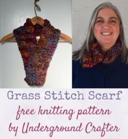 Grass Stitch Scarf