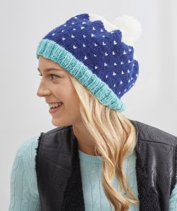 Snow-Speckled Hat