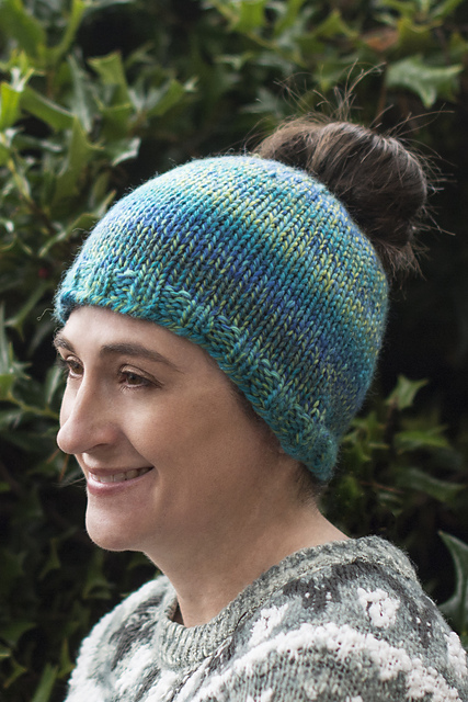 Knitting Patterns Galore Hats : Knitting Patterns Galore - Monday Hat