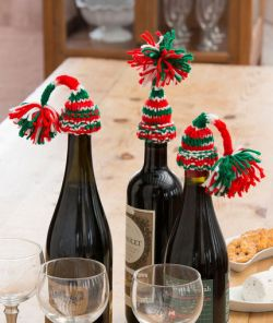 Holiday Bottle Beanies