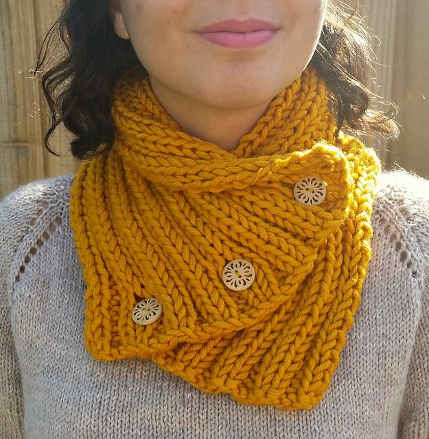 Knitting Patterns Galore Rib Stitch Scarf