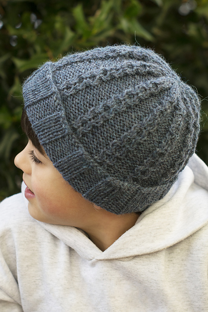 Knitting Patterns Galore Hats : Knitting Patterns Galore - Robbie Hat