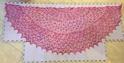 Be So Fine Lace Sampler Shawl