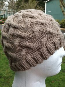 Wandering Cables Beanie