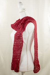 Chili Pepper Mesh Scarf