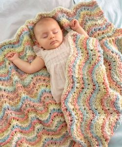 Rocking Waves Blanket