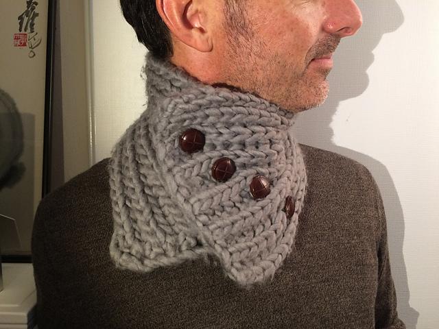 Knitting Patterns Galore Never Fail Muffler