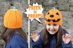 Smiling Pumpkin Halloween hat