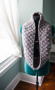 Paris in Winter Cowl