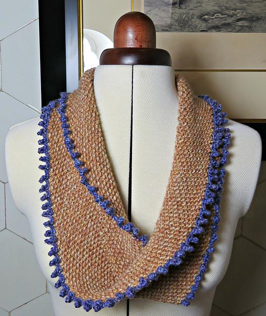Knitting Patterns Galore Moebius Infinity Scarf