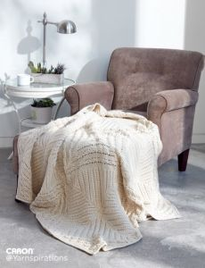 Counterpane Knit Blanket