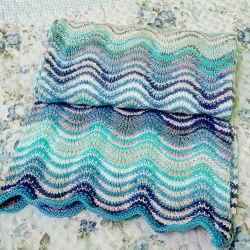 Ripple Scarf Knitting Pattern : Knitting Patterns Galore - The Ripple Scarf