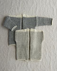 Tiny Stripes Cardigan and Vest