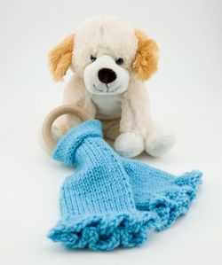 Knit Lovey Teether
